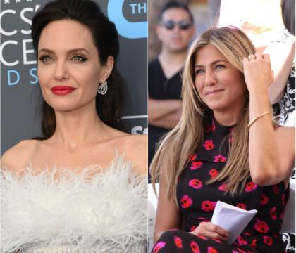 Jennifer Aniston et Angelina Jolie : Laquelle des deux embrassent le mieux ?