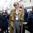 Gwendoline Christie - Arrivées du défilé de mode Louis Vuitton homme automne-hiver 2018-2019 au Palais Royal à Paris. Le 18 janvier 2018 © CVS - Veeren / Bestimage