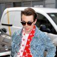 Jack Marsden - Arrivées du défilé de mode Louis Vuitton homme automne-hiver 2018-2019 au Palais Royal à Paris. Le 18 janvier 2018 © CVS - Veeren / Bestimage