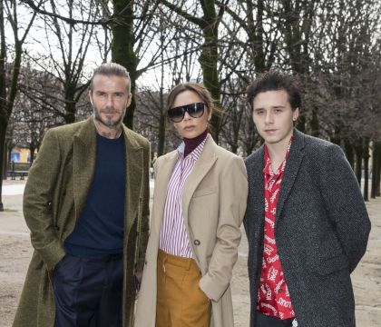David, Victoria et Brooklyn Beckham : Adieux spectaculaires chez Louis Vuitton