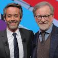 Yann Barthès et Steven Spielberg, le 12 janvier 2018.
