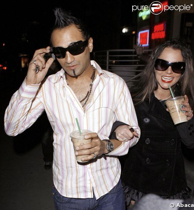 Britney Spears et Adnan Ghalib