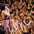 Katy Perry en concert à Bruxelles le 7 mars 2009