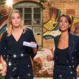 """Camille Lou et Shy'm dans VTEP, le 20 janvier 2018. Ici lors du """"casting pub""""."""