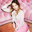 Thylane Blondeau figure sur la nouvelle campagne publicitaire de Juicy Couture. Photo par Carin Backoff.