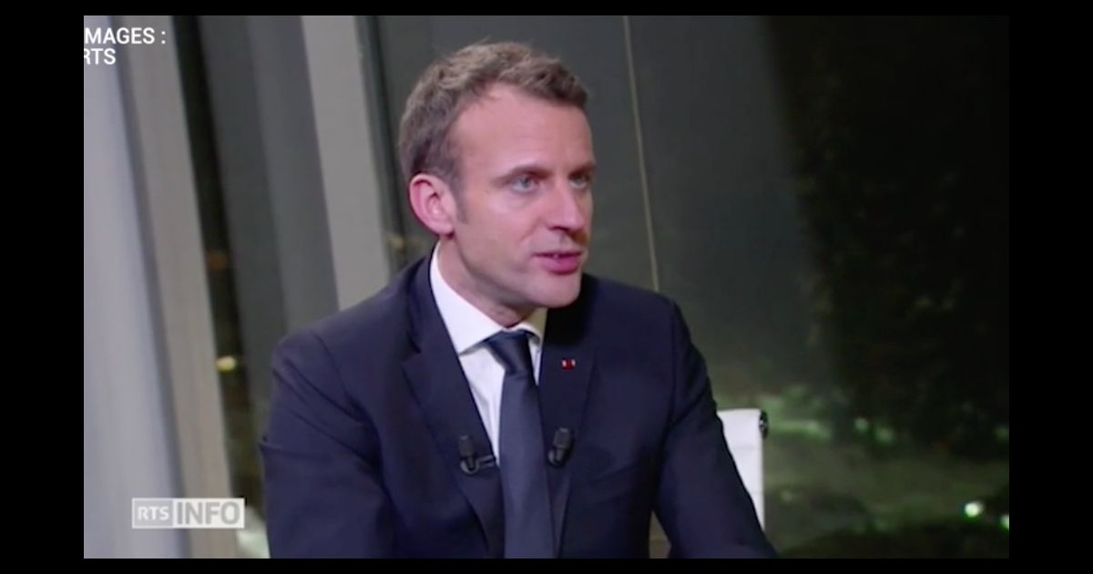 emmanuel macron voque son pouse brigitte dans une interview exclusive pour rts mercredi 24. Black Bedroom Furniture Sets. Home Design Ideas