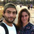 Jesta et Benoît en vacances en famille au Cambodge. Ils célèbrent leurs 9 mois d'amour. Mai 2017.