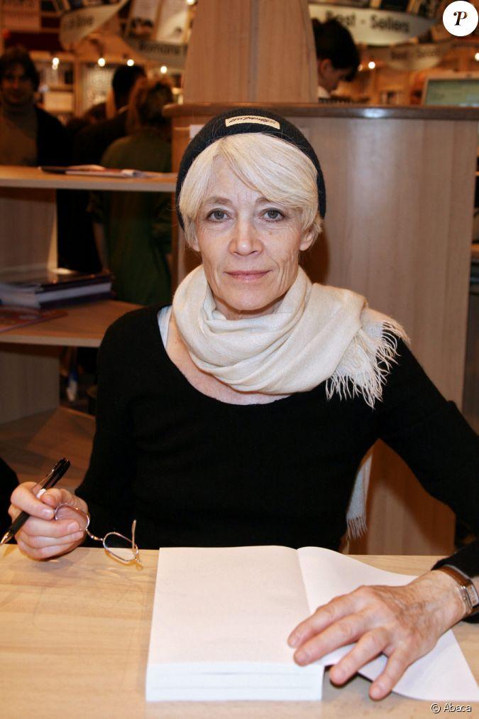 Fran oise hardy au salon du livre le 14 mars 2009 for Salon du divorce