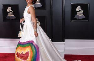 Grammy Awards 2018 : La robe d'une chanteuse provoque le scandale