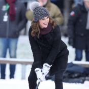 Kate Middleton enceinte: Duel de bandy avec William et balade royale à Stockholm