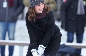 Kate Middleton enceinte: Duel de bandy avec William et balade royale à Stockholm