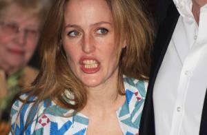 Gillian Anderson énervée... contre sa styliste ?