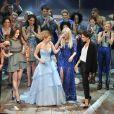 Melanie Brown, Geri Halliwell, Emma Bunton, Melanie Chisholm, Victoria Beckham - Première de la comédie musicale des Spice Girls 'The Viva Forever' à Londres, le 11 décembre 2012.