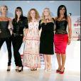 Les Spice Girls réunis à Londres, le 28 juin 2007