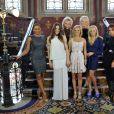 Les Spice Girls réunies pour le lancement de Viva Forever à Londres, le 26 juin 2012