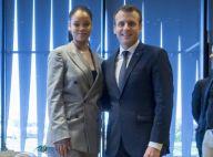 Emmanuel Macron face à Rihanna : Retrouvailles chaleureuses à Dakar