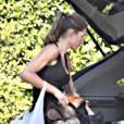 Gisele Bündchen à Los Angeles en train d'aménager sa maison