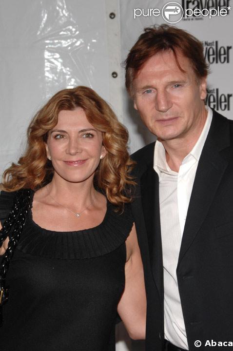 Natasha Richardson et son mari Liam Neeson