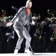 Justin Timberlake assure le show de la mi-temps lors du Super Bowl à Minneapolis, le 1 février 2018.