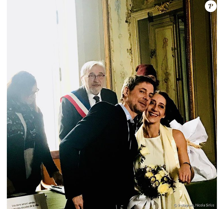 Boris Jardel d'Indochine s'est marié avec Elodie samedi 3 février 2018.