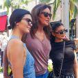 Exclusif - Kendall, Caitlyn et Kylie Jenner à Beverly Hills le 18 juin 2017.
