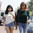 Kylie Jenner et son père Caitlyn Jenner à Malibu, le 3 juin 2016.