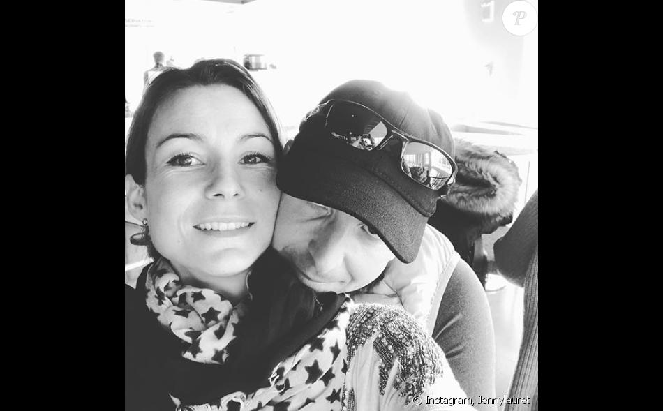 Jennifer Lauret et son compagnon Patrick, le 5 février 2018.