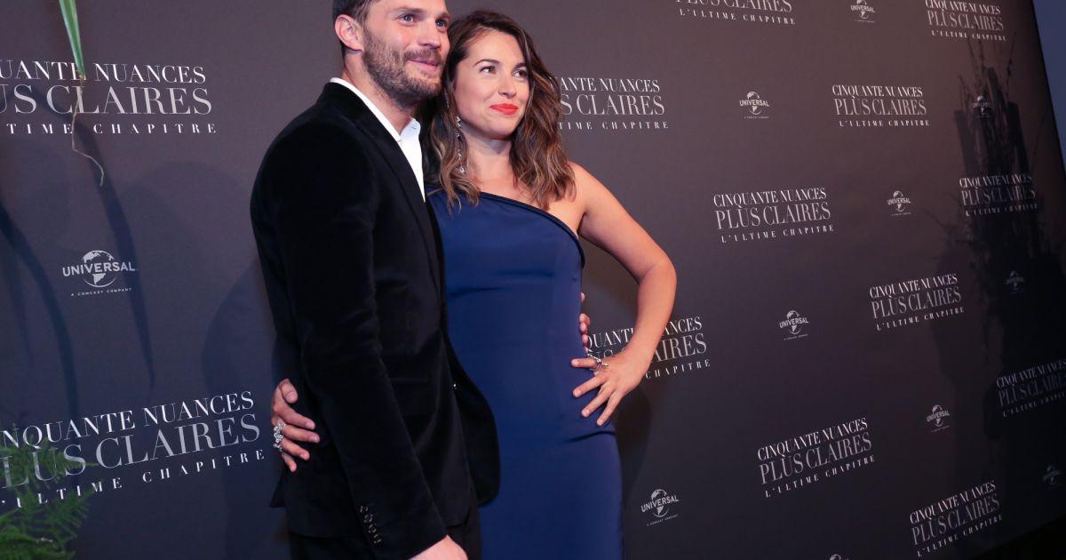 Jamie dornan et sa femme amelia warner int rieur avant for Interieur paris premiere