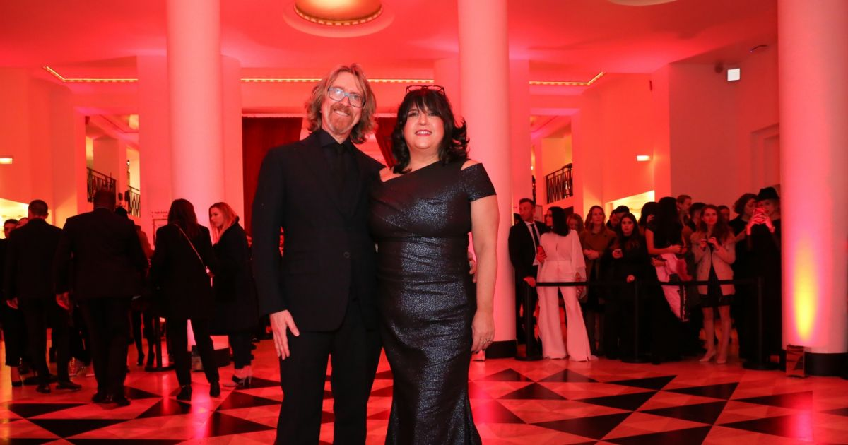 E l james et son mari int rieur avant premi re for Interieur paris premiere