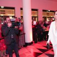"""Rita Ora (bijoux De Grisogono) - Intérieur - Avant-première mondiale de """" 50 nuances plus claires """" à la salle Pleyel à Paris le 6 février 2018. © Borde / Vigerie / Bestimage"""