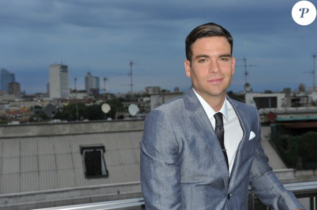 L'acteur de la serie Glee, Mark Salling - People a la soiree Ferragamo lors de la fashion week de Milan. Le 23 juin 2013
