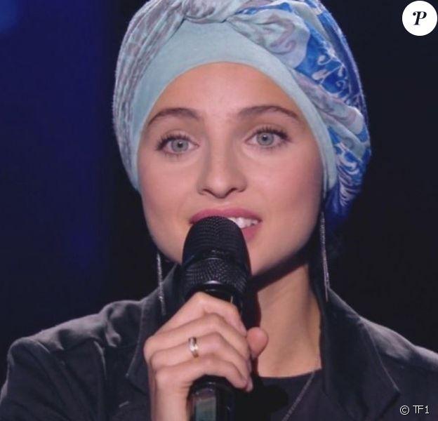"""Mennel dans """"The Voice 7"""", 3 février 2018, TF1"""