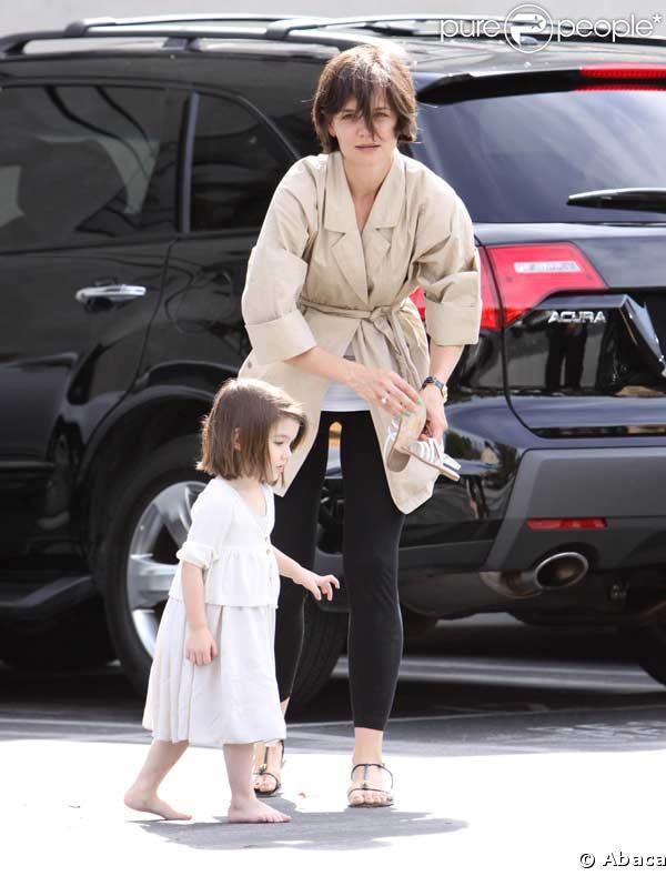 Katie Holmes et sa fille Suri s'éclatent comme des folles à Los Angeles