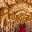 """""""St George's Hall"""" où le prince Harry et Meghan Markle organiseront une réception après leur mariage - Illustration sur le château de Windsor où le prince Harry et Meghan Markle vont se marier le 19 mai 2018 à Windsor"""