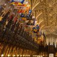 La chapelle du château de Windsor où aura lieu le mariage - Illustration sur le château de Windsor où le prince Harry et Meghan Markle vont se marier le 19 mai 2018 à Windsor