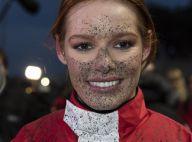 Maëva Coucke (Miss France 2018) couverte de boue et victorieuse face aux ex-Miss