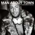 Neymar Jr. en couverture du magazine Man About Town. Photo par Mario Testino.