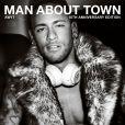 Neymar Jr. en couverture du magazine Man About Town. Photo par Mario Testino.