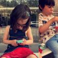 Lola Marois et Jean-Marie Bigard sont les parents de Bella et Jules (5 ans).