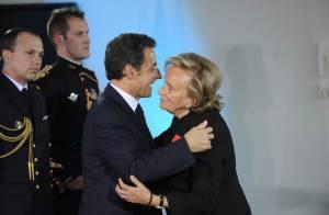 Bernadette, elle est très chouette ! C'est ce que lui a dit Nicolas Sarkozy devant... plein de people !