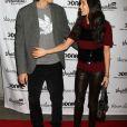"Ashton Kutcher et Demi Moore à la soirée ""Real Men Don't Buy Girls"" à New York en avril 2011"