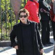 Jane Birkin à l'enterrement d'Alain Bashung