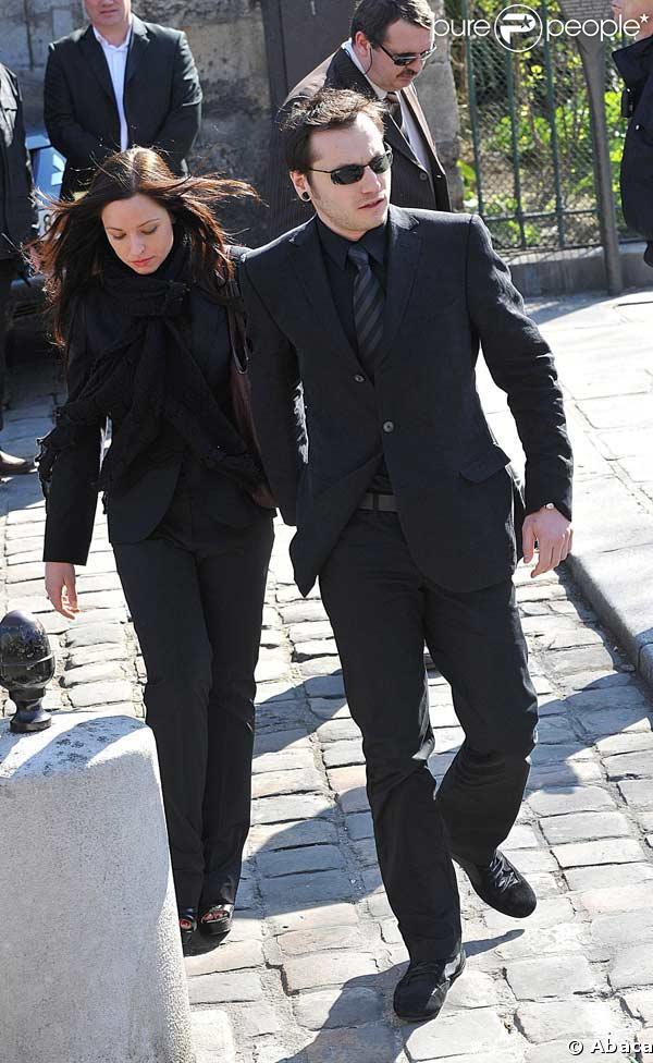 Natasha St-Pier et son compagnon   224  l enterrement d Alain BashungNatasha St Pier Mariage