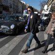 Raphael et Mélanie Thierry à l'enterrement d'Alain Bashung