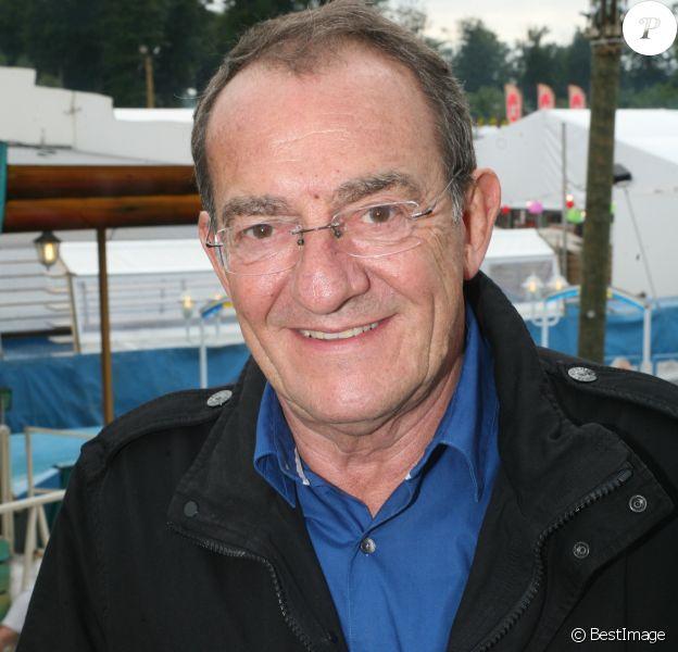 Jean-Pierre Pernaut lors de l'inauguration de la Fête des Loges 2017 à Saint-Germain-en-Laye. Le 1er juillet 2017.