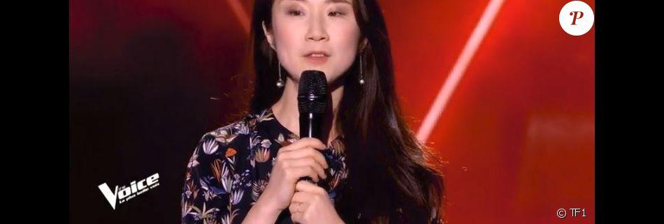 """Ubare lors des auditions à l'aveugle de """"The Voice 7"""" (TF1), samedi 24 février 2018."""