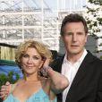 Natasha Richarson et Liam Neeson en Juin 2008