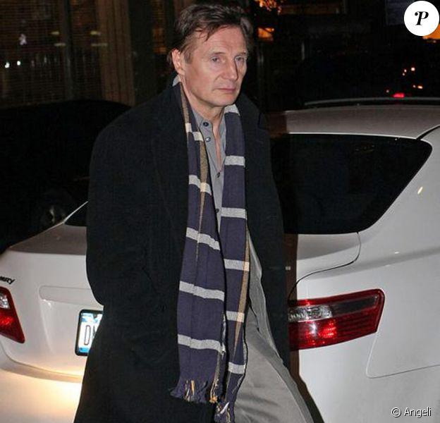 Liam Neeson, son fils et leurs amis proches ont fait la veillée funébre