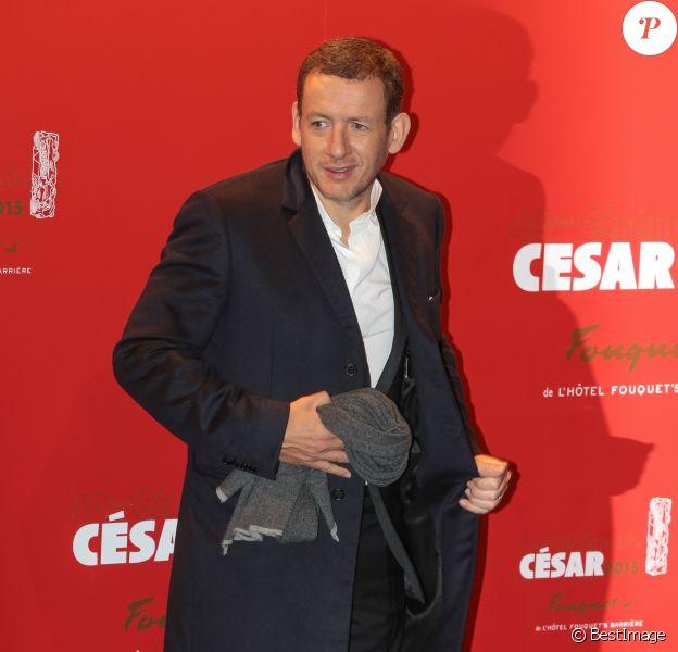 Dany Boon - Photocall au Fouquet's lors de la 40ème cérémonie des César à Paris. Le 20 février 2015
