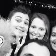 Jeff Panacloc et Charlotte de Hugo-Colcanap lors des NRJ Music Awards en décembre 2014 à Cannes, photo Instagram.